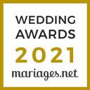 Mariage en Anciennes, gagnant Wedding Awards 2021 Mariages.net