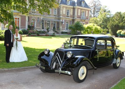 Citroen Traction 11b location voiture ancienne Mariage