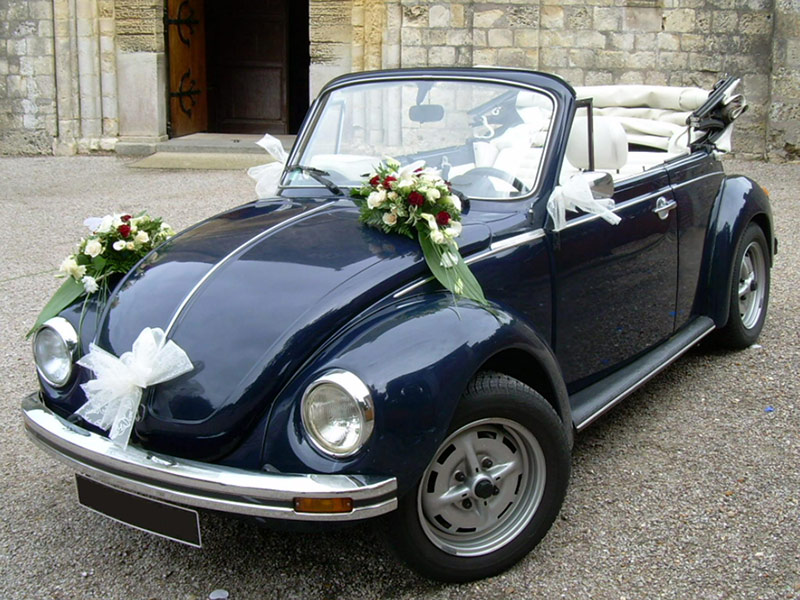 decoration voiture mariage coccinelle id es et d 39 inspiration sur le mariage. Black Bedroom Furniture Sets. Home Design Ideas