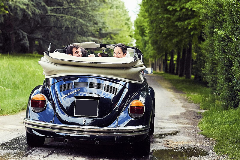 Coccinelle Cabriolet - Location Voiture Mariage