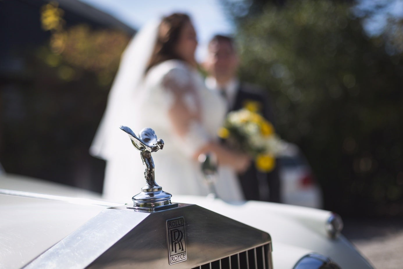 Rolls Royce Silver Cloud Blanche location voiture mariage