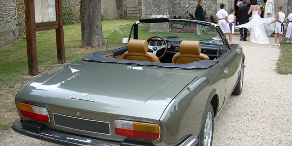 location voiture mariage peugeot 504 cabriolet v6 eure. Black Bedroom Furniture Sets. Home Design Ideas