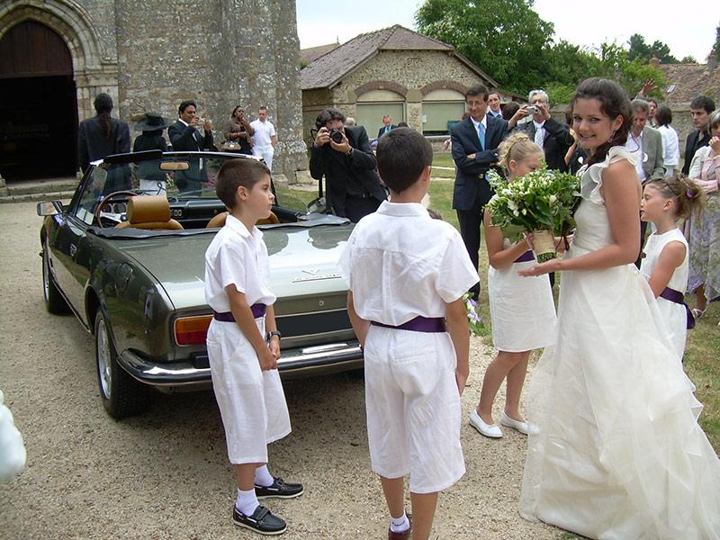 Peugeot 504 Cabriolet V6 - Location Voiture Mariage
